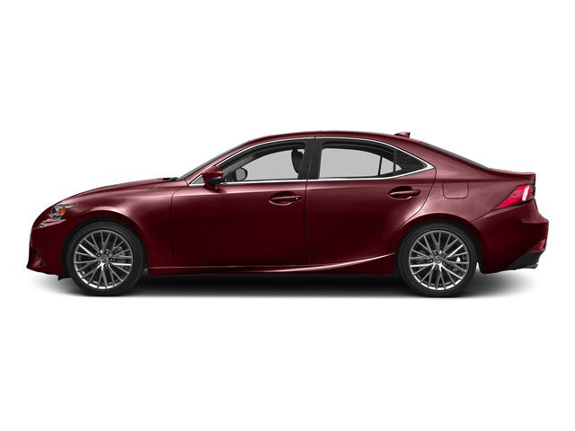 Matador Red Mica 2015 Lexus IS 250 Pictures IS 250 Sedan 4D IS250 V6 photos side view