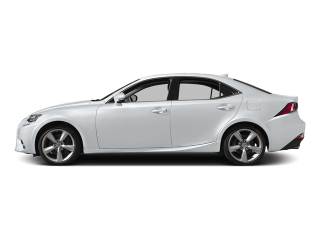 Ultra White 2015 Lexus IS 350 Pictures IS 350 Sedan 4D IS350 V6 photos side view