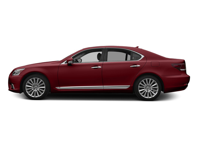 Matador Red Mica 2015 Lexus LS 460 Pictures LS 460 Sedan 4D LS460 V8 photos side view