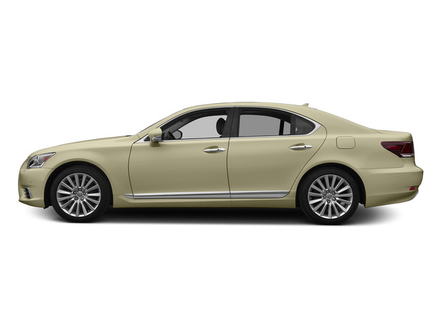 Satin Cashmere Metallic 2015 Lexus LS 460 Pictures LS 460 Sedan 4D LS460 V8 photos side view