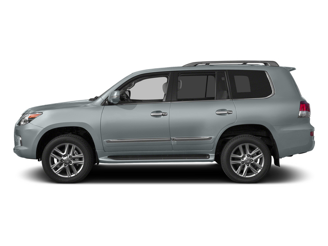 Silver Lining Metallic 2015 Lexus LX 570 Pictures LX 570 Utility 4D 4WD V8 photos side view