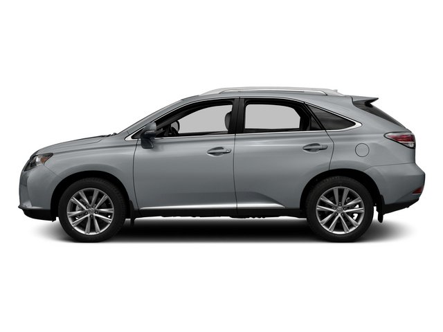 Nebula Gray Pearl 2015 Lexus RX 350 Pictures RX 350 Utility 4D 2WD V6 photos side view