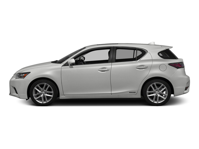 Eminent White 2015 Lexus CT 200h Pictures CT 200h Hatchback 5D CT200h I4 Hybrid photos side view
