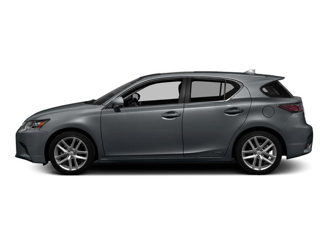 Nebula Gray Pearl 2015 Lexus CT 200h Pictures CT 200h Hatchback 5D CT200h I4 Hybrid photos side view