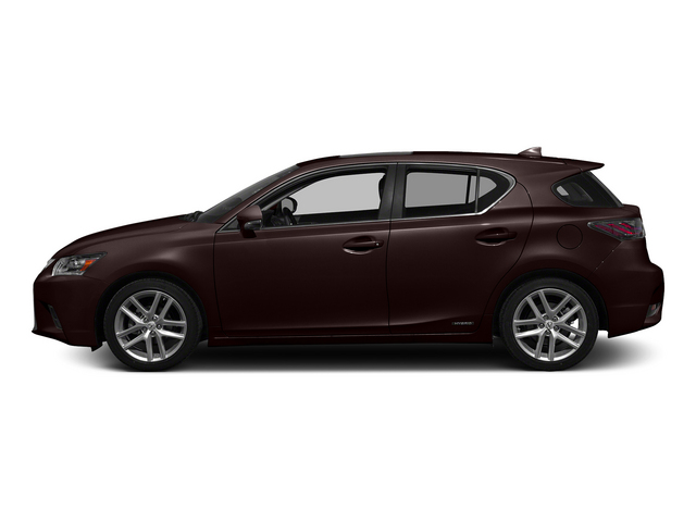 Fire Agate Pearl 2015 Lexus CT 200h Pictures CT 200h Hatchback 5D CT200h I4 Hybrid photos side view