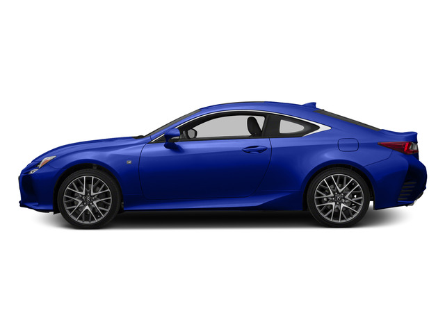 Ultrasonic Blue Mica 2.0 2015 Lexus RC 350 Pictures RC 350 Coupe 2D RC350 V6 photos side view