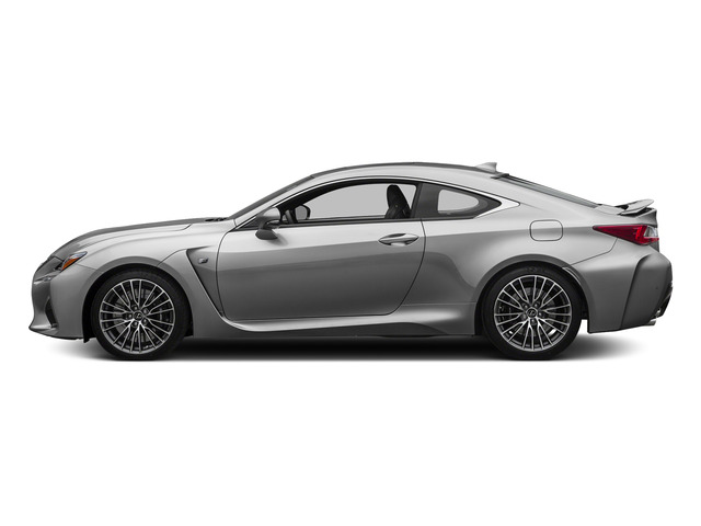 Liquid Platinum 2015 Lexus RC F Pictures RC F Coupe 2D RC-F V8 photos side view