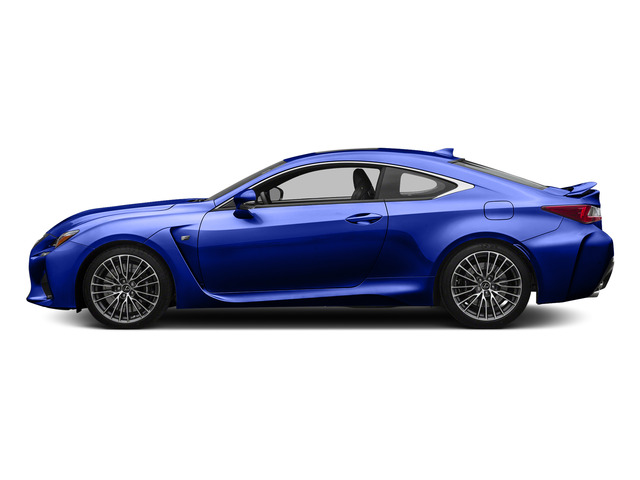 Ultrasonic Blue Mica 2.0 2015 Lexus RC F Pictures RC F Coupe 2D RC-F V8 photos side view