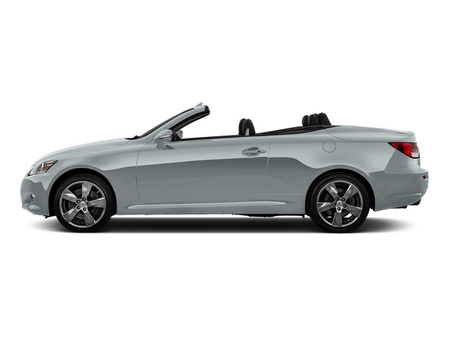 Silver Lining Metallic 2015 Lexus IS 350C Pictures IS 350C Convertible 2D IS350 V6 photos side view