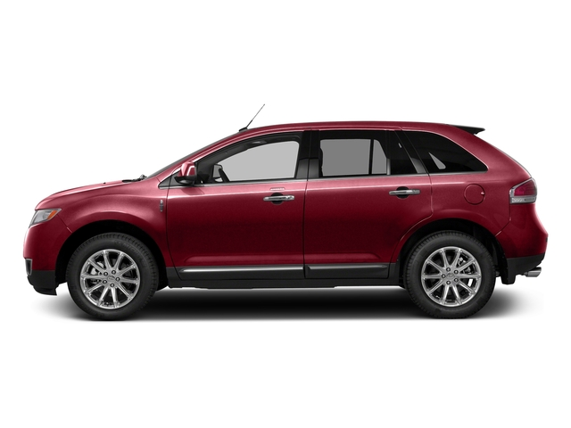 Ruby Red Metallic Tinted Clearcoat 2015 Lincoln MKX Pictures MKX Wagon 4D Elite AWD photos side view