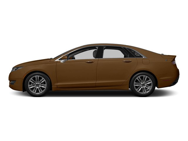 Bronze Fire Metallic Tinted Clearcoat 2015 Lincoln MKZ Pictures MKZ Sedan 4D V6 photos side view