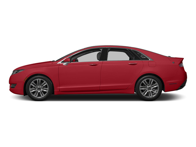 Ruby Red Metallic Tinted Clearcoat 2015 Lincoln MKZ Pictures MKZ Sedan 4D V6 photos side view