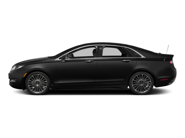 Tuxedo Black Metallic 2015 Lincoln MKZ Pictures MKZ Sedan 4D I4 Hybrid photos side view