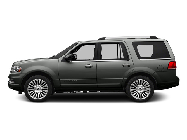 Magnetic Metallic 2015 Lincoln Navigator Pictures Navigator Utility 4D Select 2WD V6 Turbo photos side view