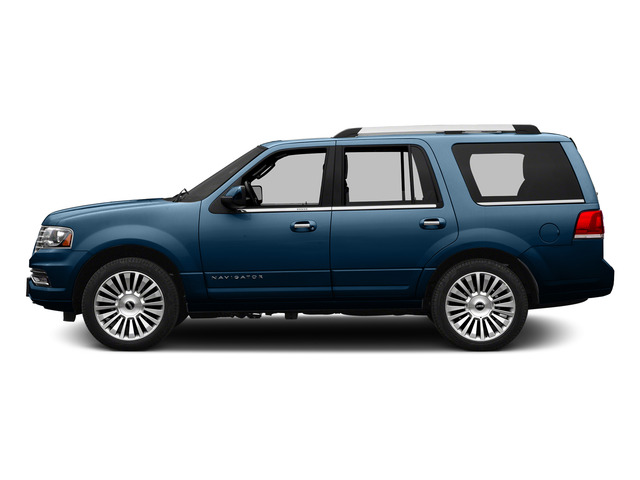 Midnight Sapphire Metallic 2015 Lincoln Navigator Pictures Navigator Utility 4D Select 2WD V6 Turbo photos side view