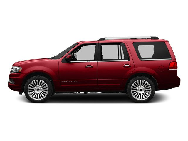 Ruby Red Metallic Tinted Clearcoat 2015 Lincoln Navigator Pictures Navigator Utility 4D Select 2WD V6 Turbo photos side view