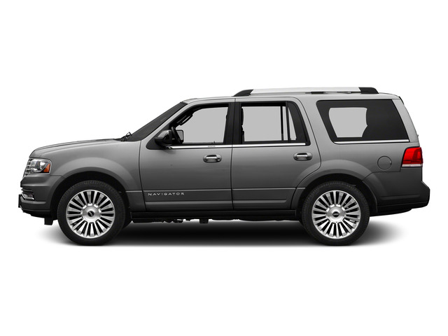 Ingot Silver Metallic 2015 Lincoln Navigator Pictures Navigator Utility 4D Select 2WD V6 Turbo photos side view