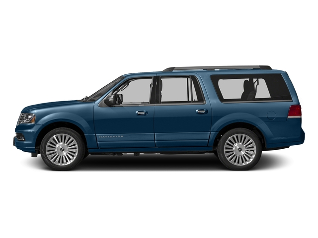 Midnight Sapphire Metallic 2015 Lincoln Navigator L Pictures Navigator L Utility 4D Select 2WD V6 Turbo photos side view