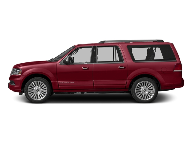 Ruby Red Metallic Tinted Clearcoat 2015 Lincoln Navigator L Pictures Navigator L Utility 4D Select 2WD V6 Turbo photos side view