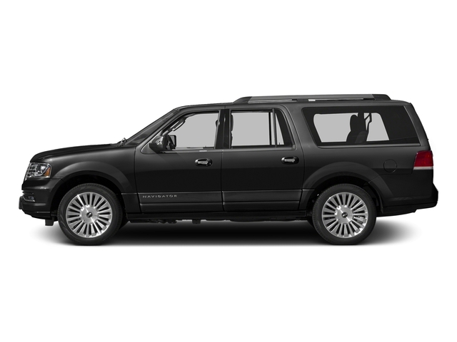 Tuxedo Black Metallic 2015 Lincoln Navigator L Pictures Navigator L Utility 4D Select 2WD V6 Turbo photos side view