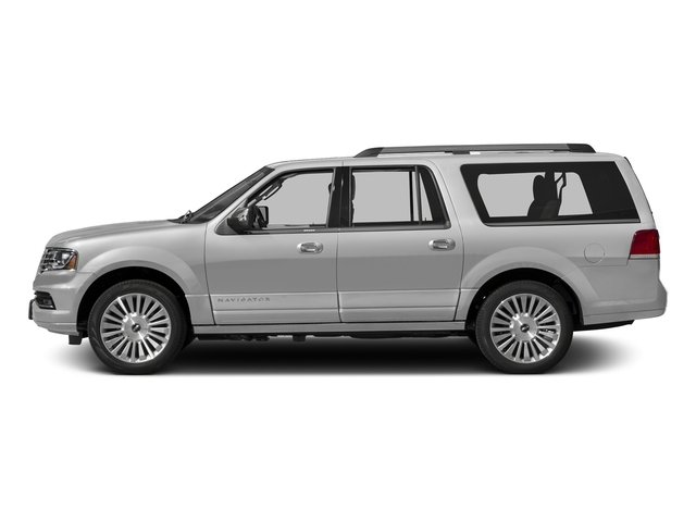Ingot Silver Metallic 2015 Lincoln Navigator L Pictures Navigator L Utility 4D Select 2WD V6 Turbo photos side view