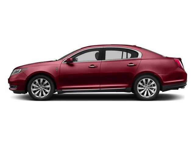 Ruby Red Metallic Tinted Clearcoat 2015 Lincoln MKS Pictures MKS Sedan 4D V6 photos side view