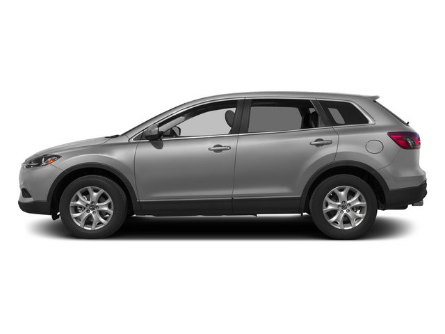 Liquid Silver 2015 Mazda CX-9 Pictures CX-9 Utility 4D GT 2WD V6 photos side view