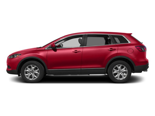 Zeal Red Mica 2015 Mazda CX-9 Pictures CX-9 Utility 4D Touring 2WD V6 photos side view