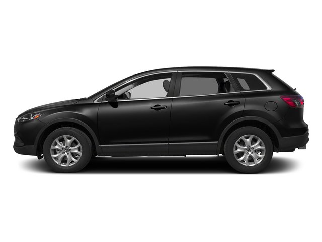 Jet Black Mica 2015 Mazda CX-9 Pictures CX-9 Utility 4D Sport 2WD V6 photos side view