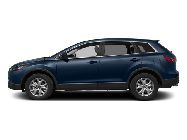 Blue Reflex Mica 2015 Mazda CX-9 Pictures CX-9 Utility 4D GT 2WD V6 photos side view