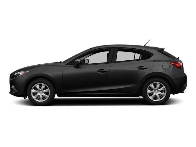 Jet Black Mica 2015 Mazda Mazda3 Pictures Mazda3 Wagon 5D i GT I4 photos side view