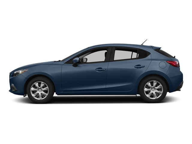 Blue Reflex Mica 2015 Mazda Mazda3 Pictures Mazda3 Wagon 5D i Sport I4 photos side view