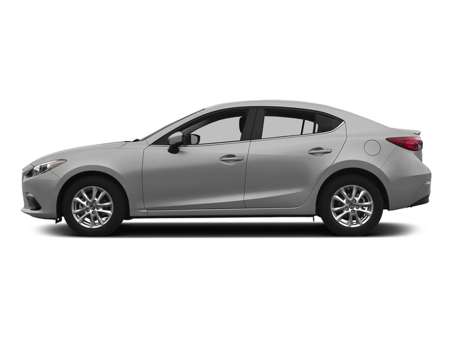Liquid Silver Metallic 2015 Mazda Mazda3 Pictures Mazda3 Sedan 4D i SV I4 photos side view
