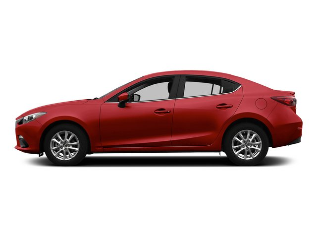 Soul Red Metallic 2015 Mazda Mazda3 Pictures Mazda3 Sedan 4D s GT I4 photos side view