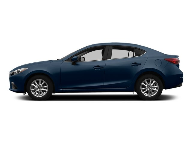 Blue Reflex Mica 2015 Mazda Mazda3 Pictures Mazda3 Sedan 4D i SV I4 photos side view