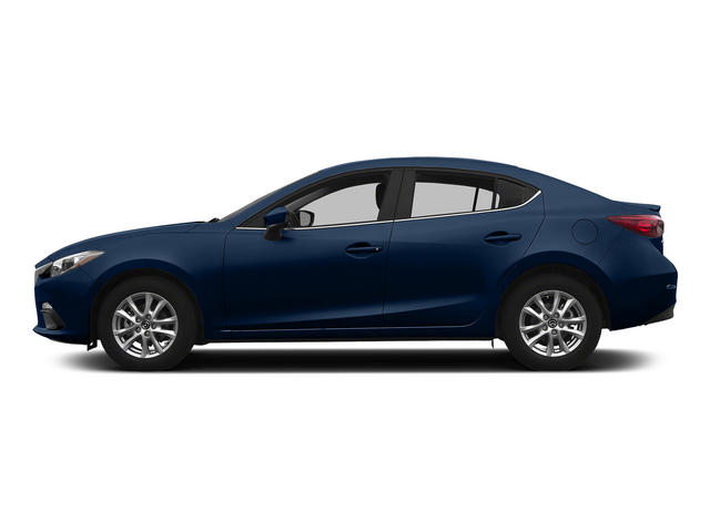 Deep Crystal Blue Mica 2015 Mazda Mazda3 Pictures Mazda3 Sedan 4D s Touring I4 photos side view