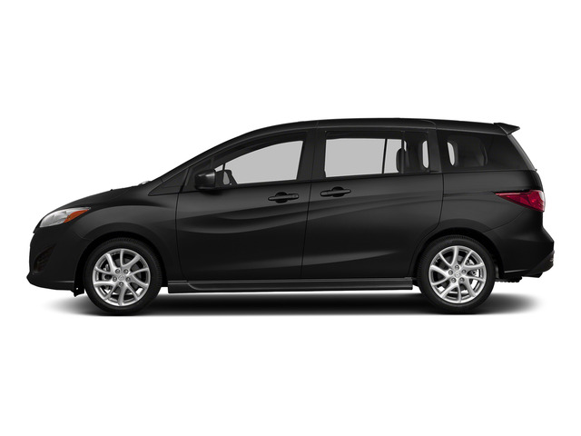 Jet Black Mica 2015 Mazda Mazda5 Pictures Mazda5 Wagon 5D Sport I4 photos side view