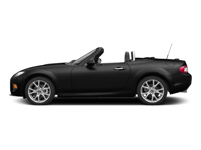 Brilliant Black Clearcoat 2015 Mazda MX-5 Miata Pictures MX-5 Miata Hardtop 2D Club I4 photos side view