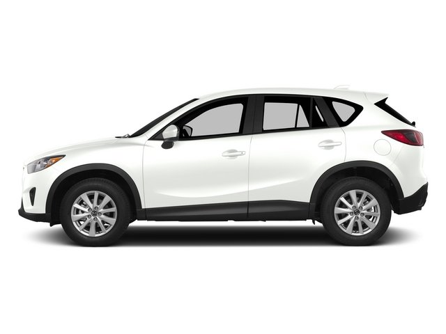 Crystal White Mica 2015 Mazda CX-5 Pictures CX-5 Utility 4D Touring AWD I4 photos side view