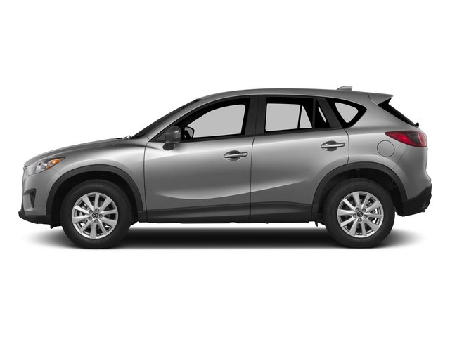 Liquid Silver 2015 Mazda CX-5 Pictures CX-5 Utility 4D Touring AWD I4 photos side view