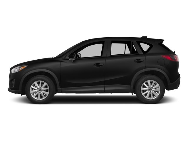 Jet Black Mica 2015 Mazda CX-5 Pictures CX-5 Utility 4D Touring AWD I4 photos side view