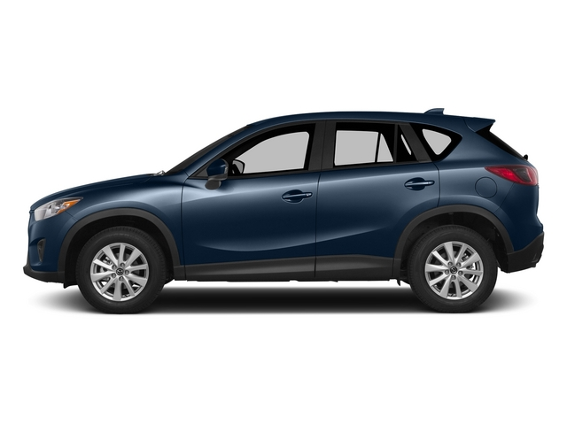 Blue Reflex Mica 2015 Mazda CX-5 Pictures CX-5 Utility 4D GT 2WD I4 photos side view