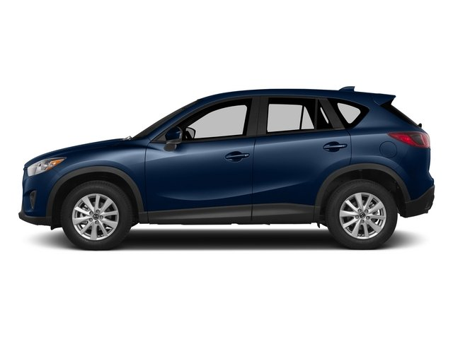 Deep Crystal Blue Mica 2015 Mazda CX-5 Pictures CX-5 Utility 4D Touring AWD I4 photos side view