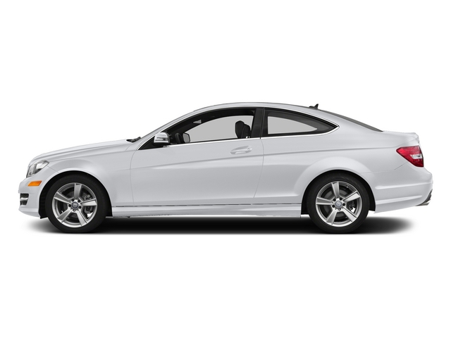 Polar White 2015 Mercedes-Benz C-Class Pictures C-Class Coupe 2D C250 I4 Turbo photos side view