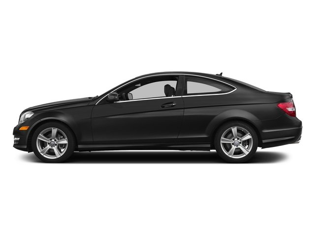 Obsidian Black Metallic 2015 Mercedes-Benz C-Class Pictures C-Class Coupe 2D C250 I4 Turbo photos side view