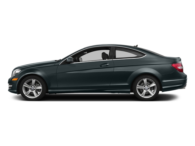 Steel Gray Metallic 2015 Mercedes-Benz C-Class Pictures C-Class Coupe 2D C250 I4 Turbo photos side view