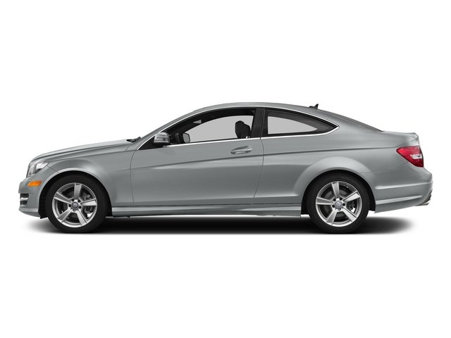 Iridium Silver Metallic 2015 Mercedes-Benz C-Class Pictures C-Class Coupe 2D C250 I4 Turbo photos side view