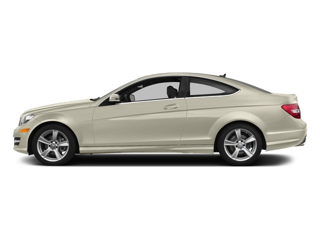 Diamond White Metallic 2015 Mercedes-Benz C-Class Pictures C-Class Coupe 2D C250 I4 Turbo photos side view