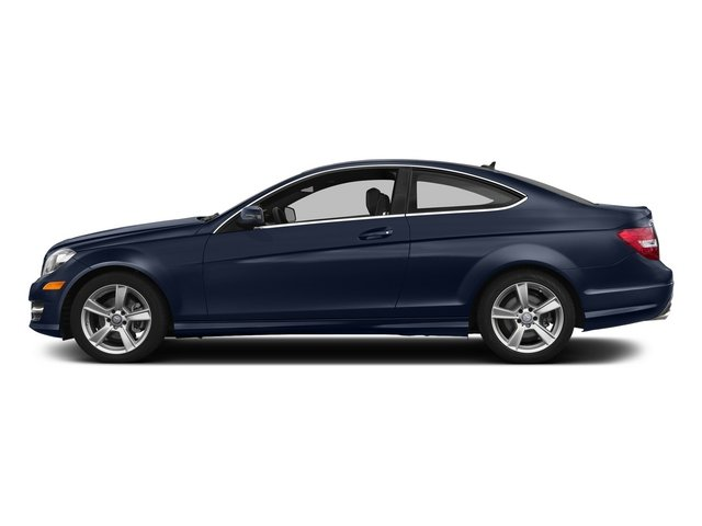 Lunar Blue Metallic 2015 Mercedes-Benz C-Class Pictures C-Class Coupe 2D C250 I4 Turbo photos side view
