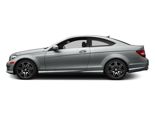Iridium Silver Metallic 2015 Mercedes-Benz C-Class Pictures C-Class Coupe 2D C350 V6 photos side view